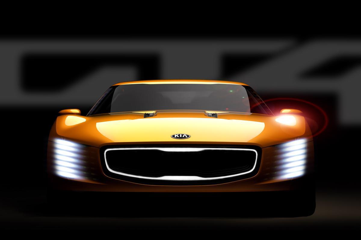 Kia teases the GT4 Stinger