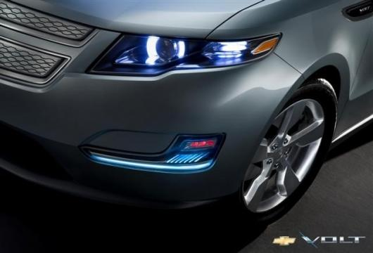 Teaser pics of the 2010 Chevy Volt