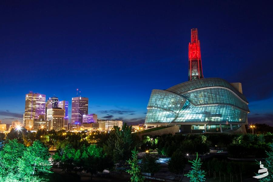 The newly-opened Canadian Museum for Human Rights has a cutting edge design, as well as sustainability and accessibility features