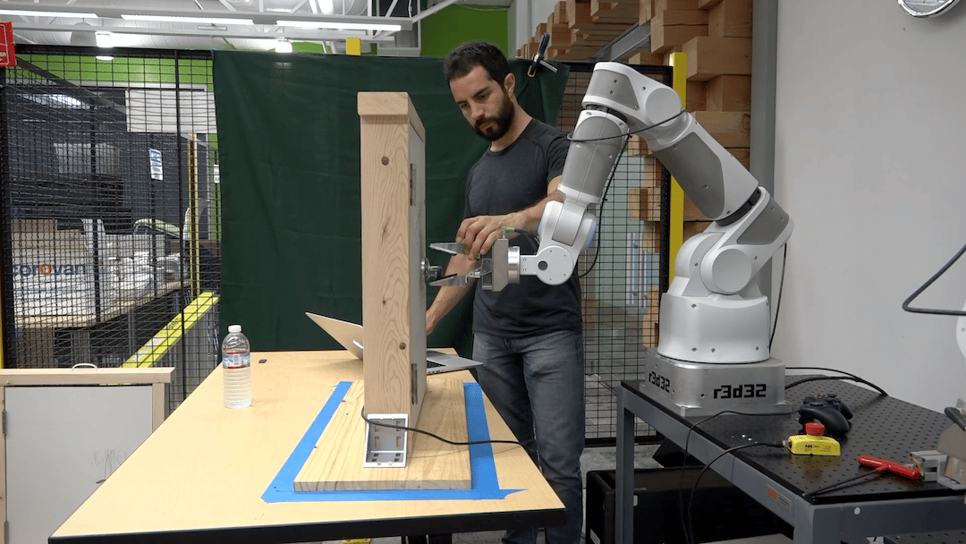 Researchers at Google have experimented with how robots can share their experiences, to help teach each other basic skills