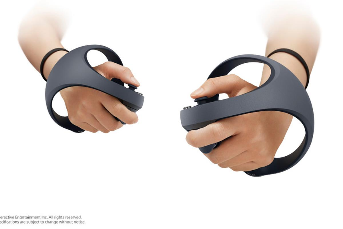 Sony has unveiled the PlayStation 5 VR controllers