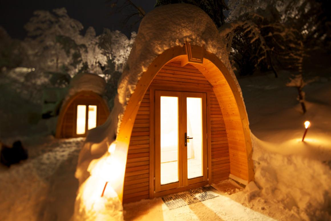 The PODhouse idea was originally conceived to improve the popular holiday adventure experience of camping during the winter months