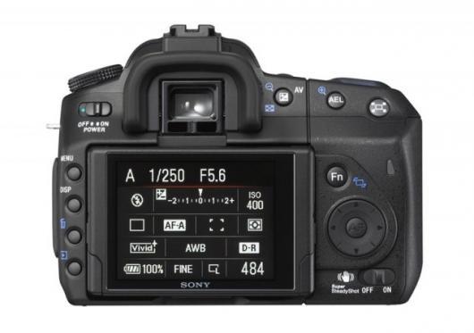 Sony's alpha 350 digital SLR