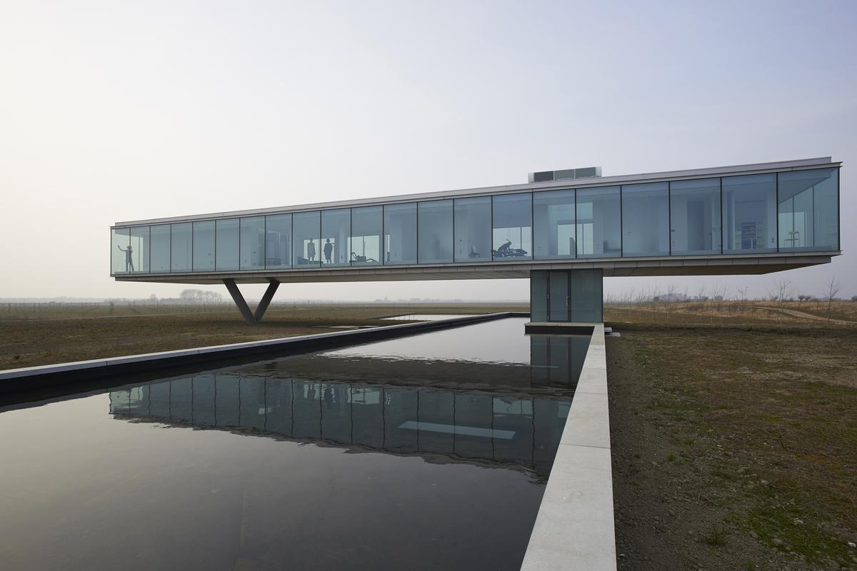 Villa Kogelhof is located in southwestern Netherlands (Photo: Jeroen Musch)