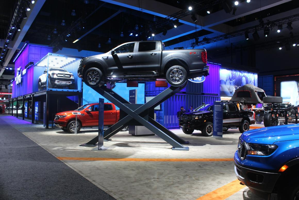 Ford Trucks at the 2018 LAAuto Show