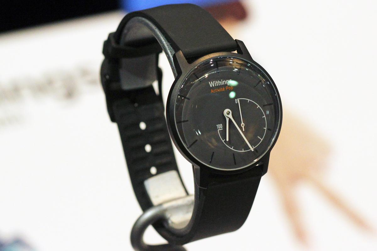 The Withings Activité Pop is a more affordable version of the company's undercover fitness tracker (Photo: Will Shanklin/Gizmag)