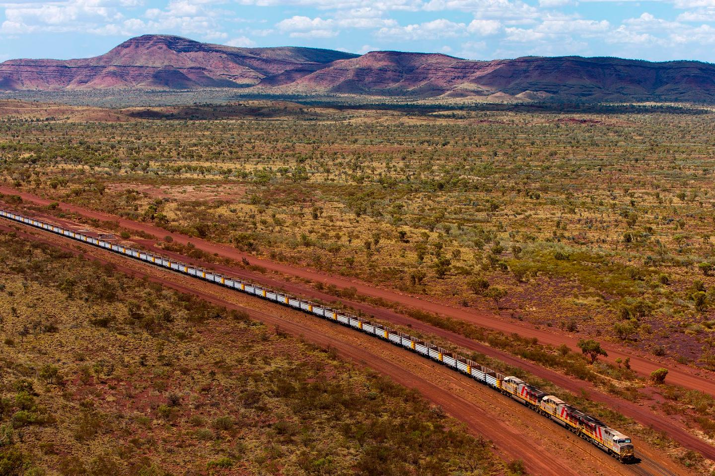 Rio Tinto has been working on autonomous train technology since 2012