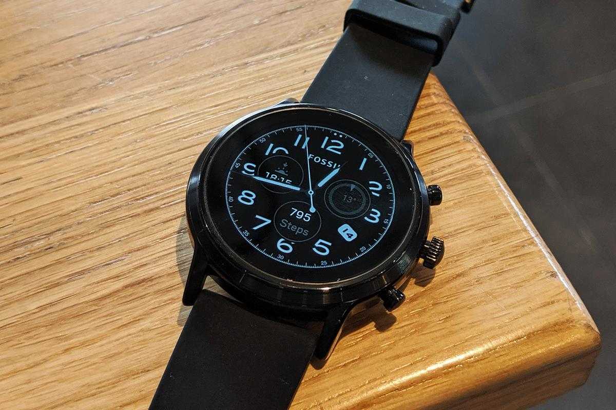 The Gen 5 smartwatches can be fitted with hundreds of Wear OS faces, including Fossil-