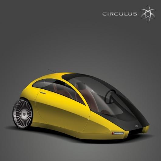 Stunning design, the Circulus three-wheeler concept