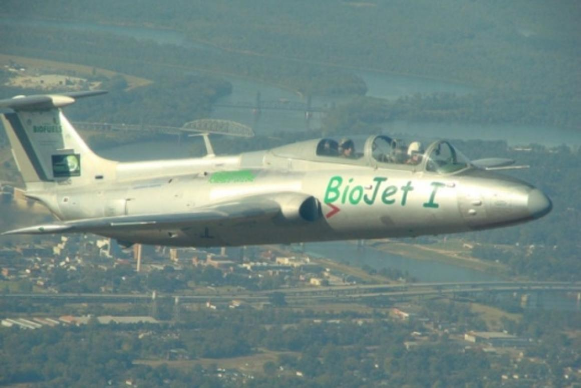 BioJet 1 during the record breaking flight