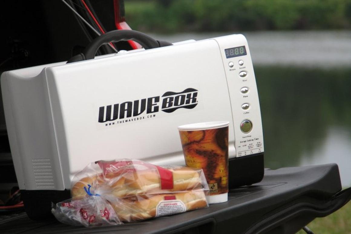 The Wavebox portable microwave oven