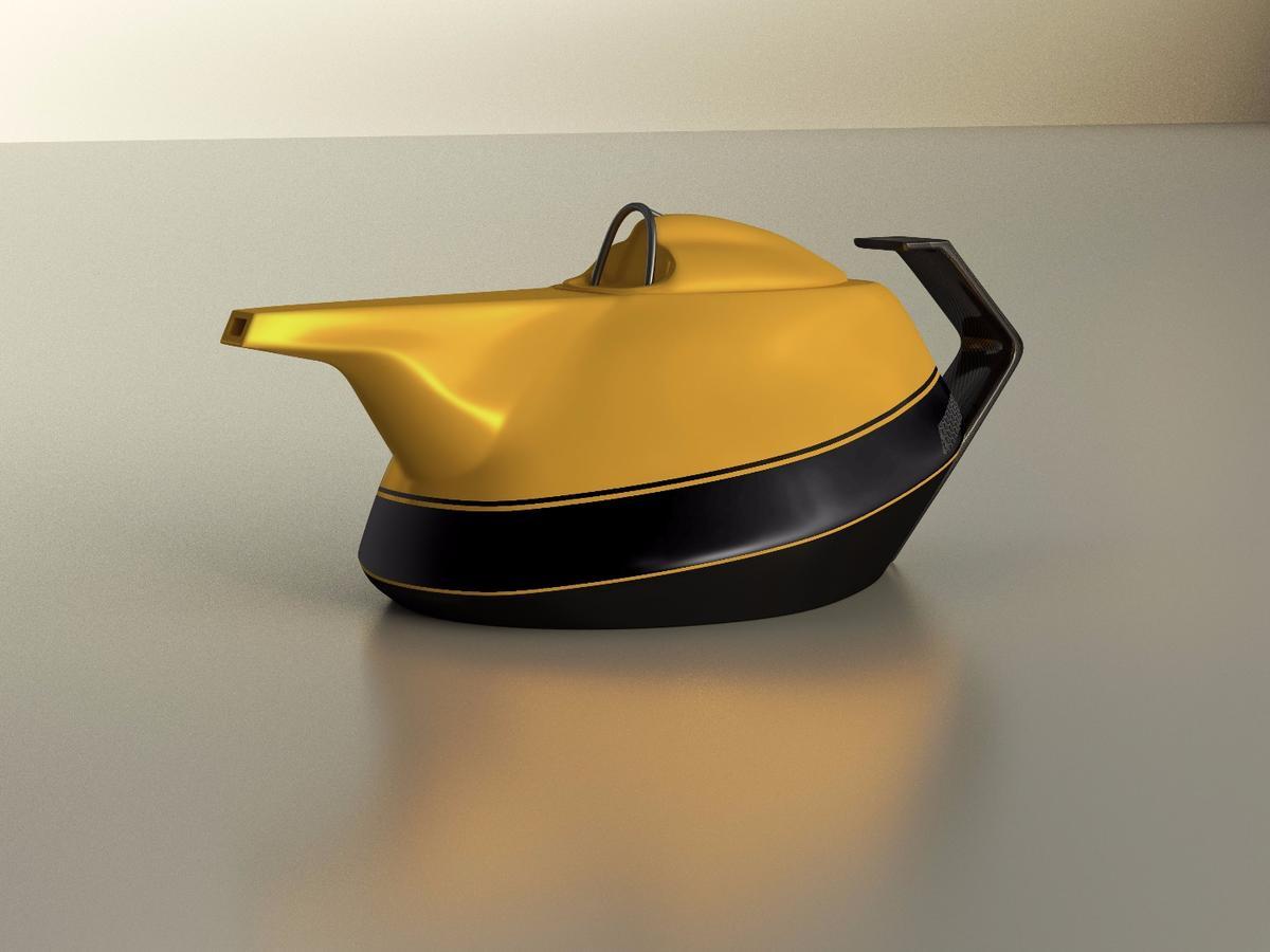 Renault's Formula 1-inspired Yellow Teapot