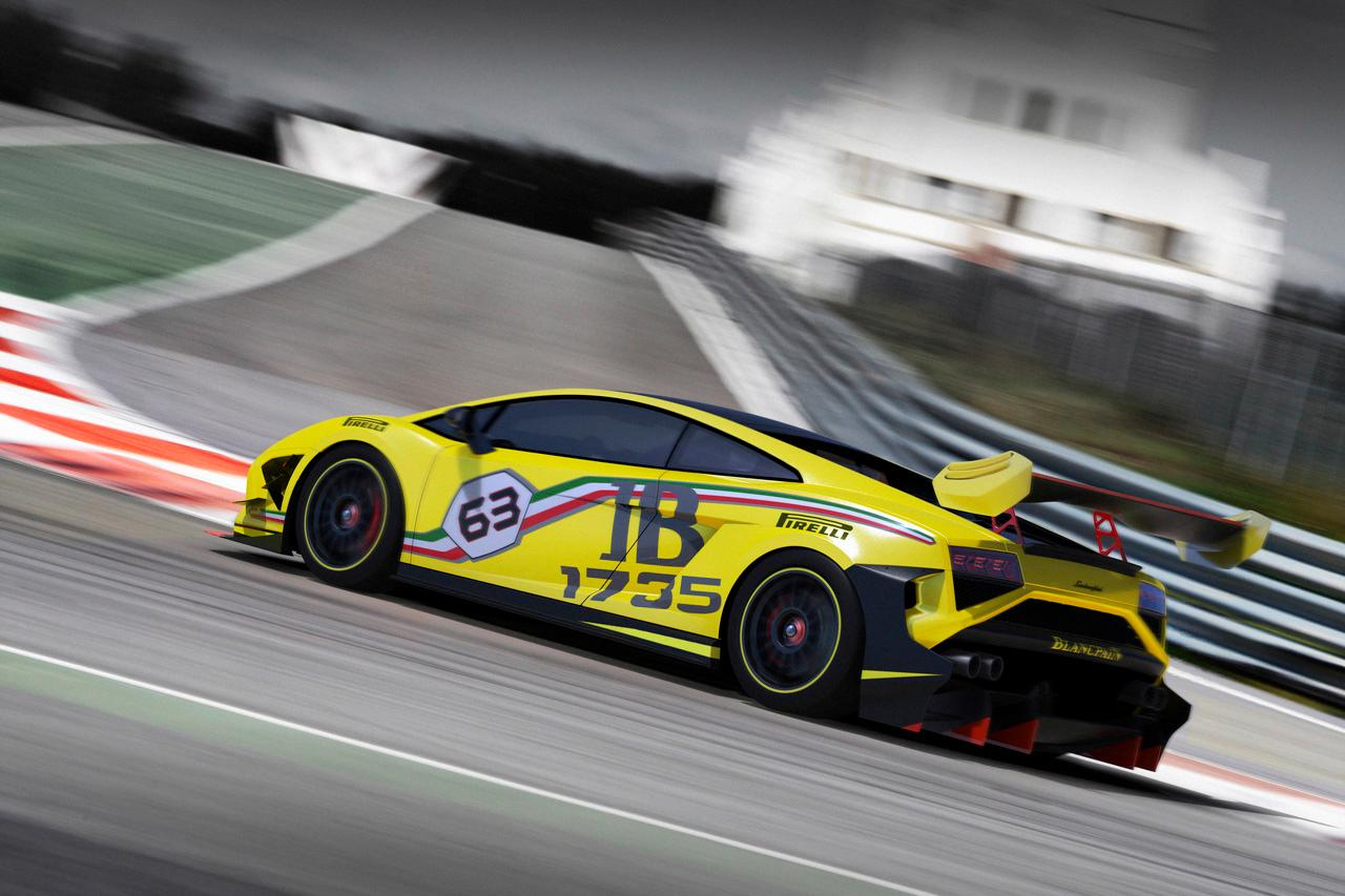 The Lamborghini Gallardo LP 570-4 Super Trofeo 2013