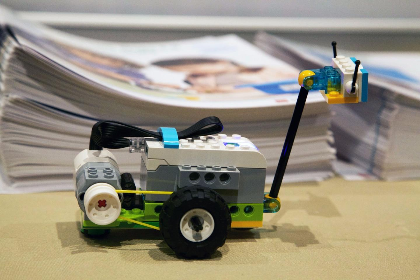 The Mini Milo tasks students with making their own space rover