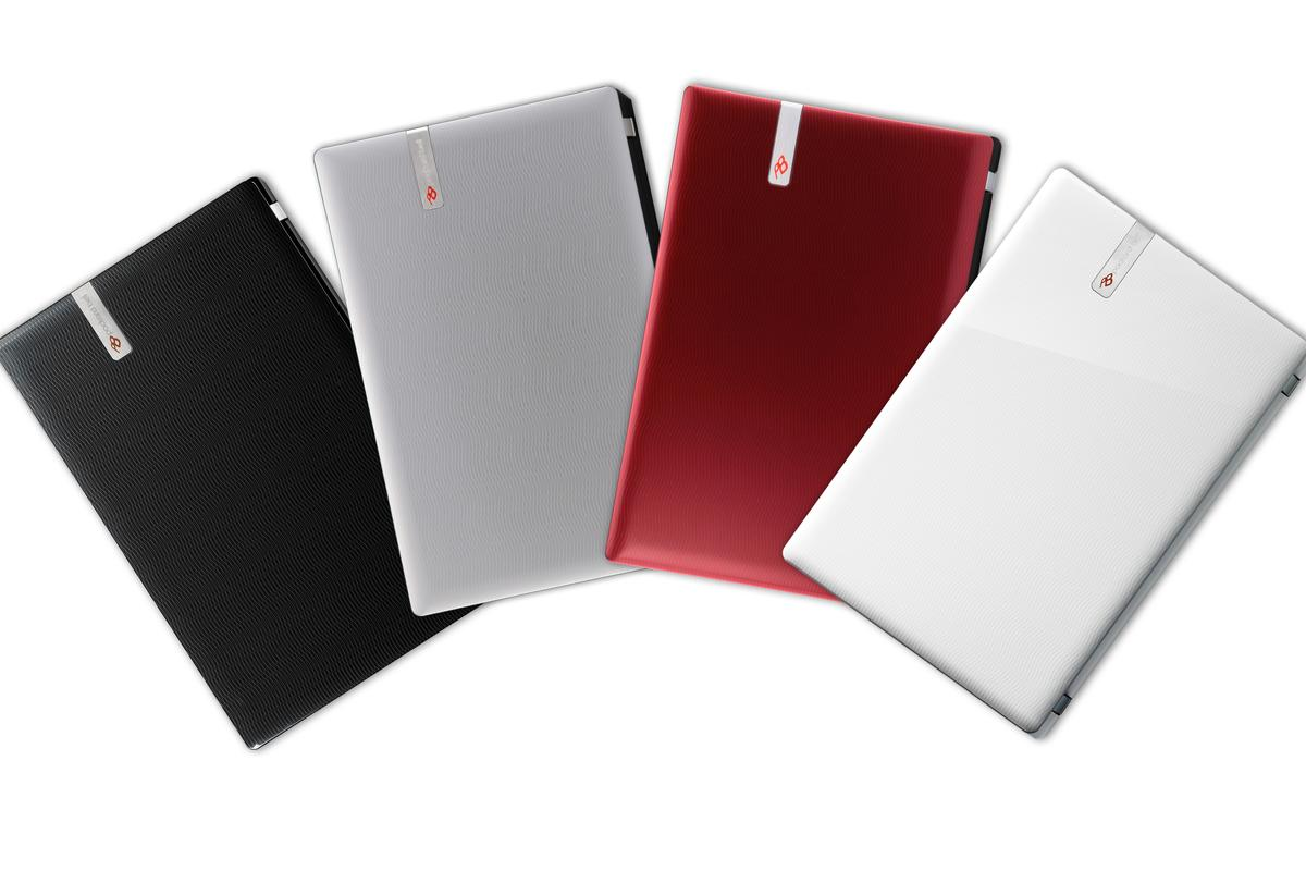 Packard Bell's new EasyNote M series of laptops with dedicated social networking feature