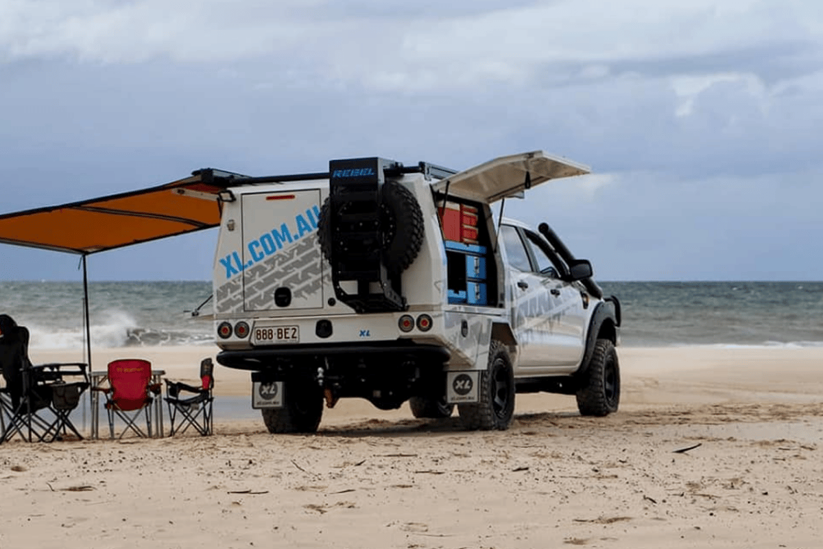 XL urges buyers to beat the weekend traffic by more quickly unloading work tools and loading up camping and recreation gear