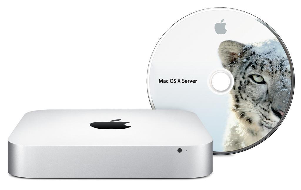 Mac mini with Mac OS X Snow Leopard Server