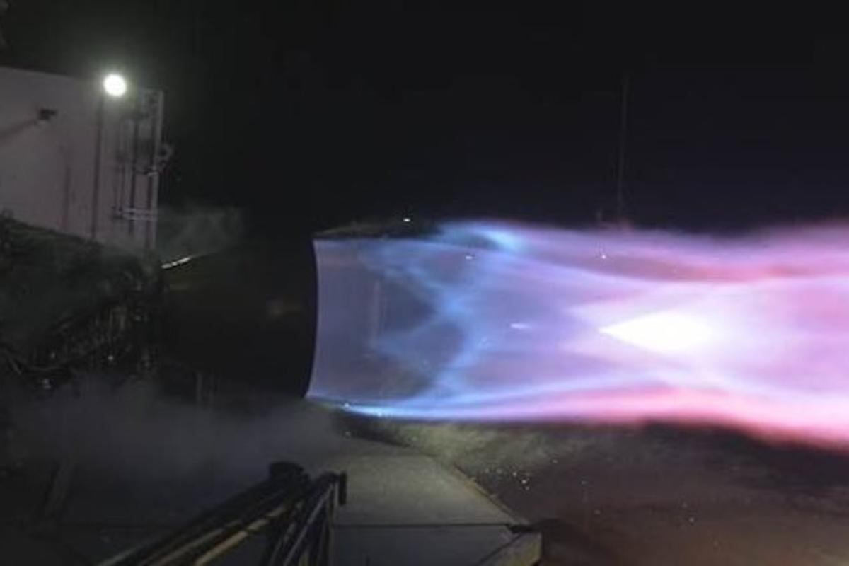 SpaceX's Raptor engine has now achieved lift-off levels of power in testing