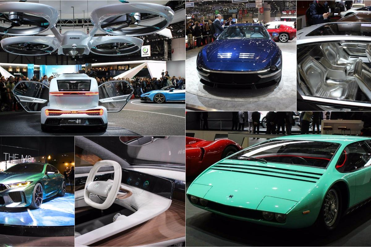 Concept cars of the 2018 Geneva Motor Show