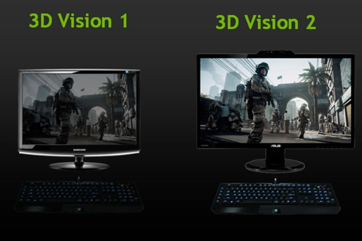 NVIDIA claims 3D Vision 2 increases the brightness of 3D images by up to two times over the original 3D Vision technology