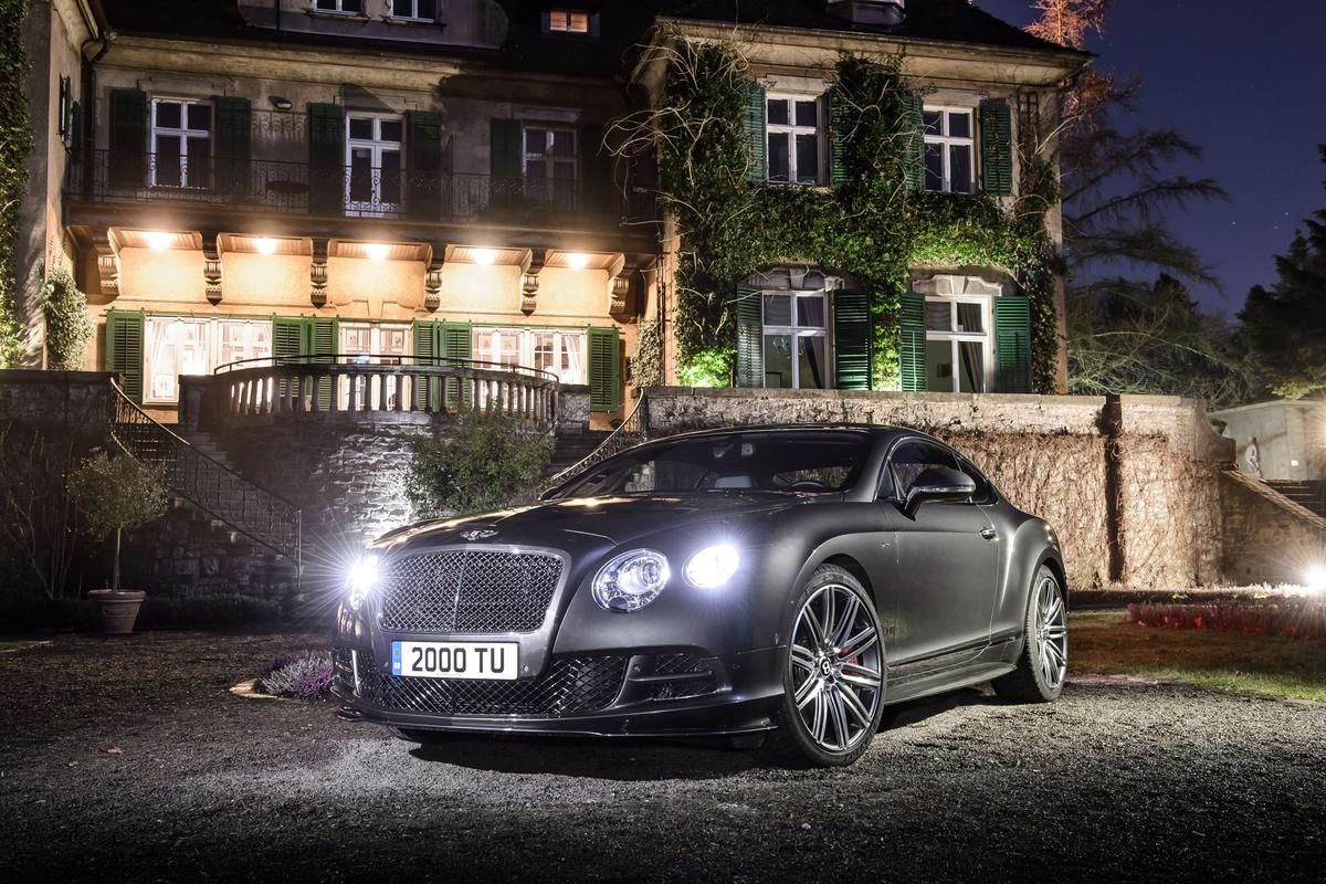 The 2015 Continental GT Speed