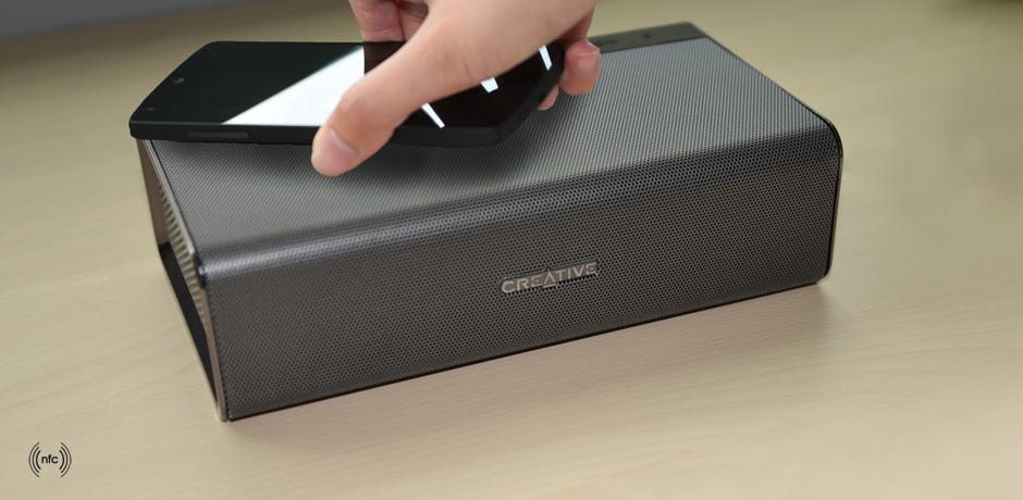 Creative has announced the Sound Blaster Roar portable Bluetooth speaker