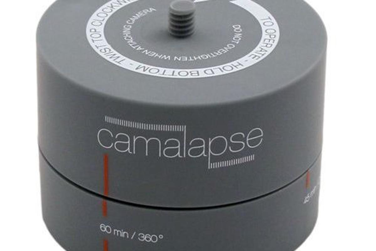 The Camalapse is an inexpensive device that allows users to shoot basic time-lapse video