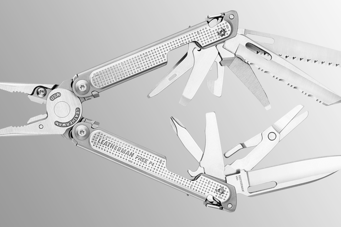 Leatherman is fired up about the release of its new Free multitools