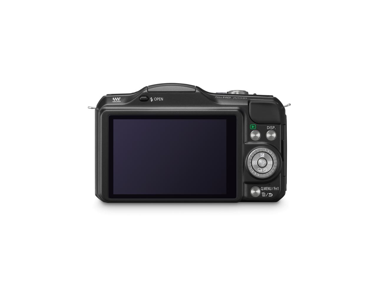 Panasonic's new LUMIX DMC-GF5 gains a higher resolution 3.0-inch 920,000-dot high-precision touch display than last year's GF3 Micro Four Thirds release