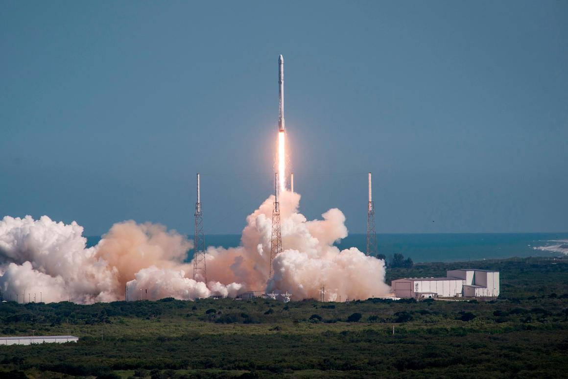 CRS-6 lifting off from Cape Canaveral in April