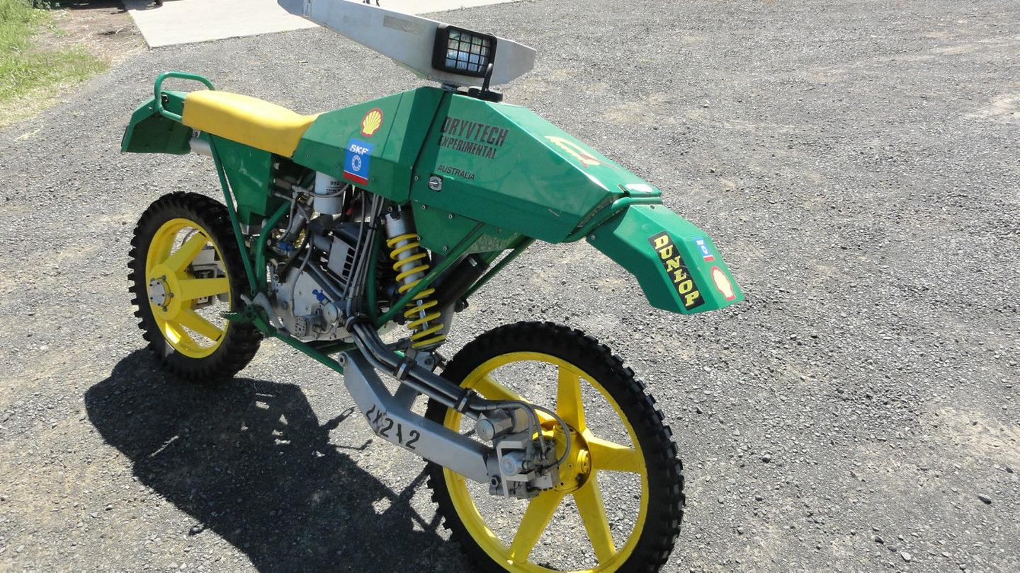 """Ian Drysdale's Dryvtech 2x2x2: """"You can ride it, but it's never gonna win an enduro"""" says Ian Drysdale, its creator"""