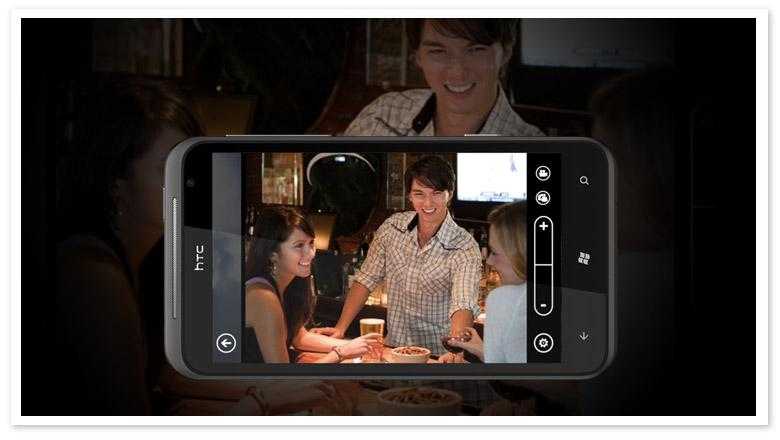 HTC TITAN offers 8 megapixel camera, which comes with f/2.2 aperture lens, dual LED flash and BSI sensor
