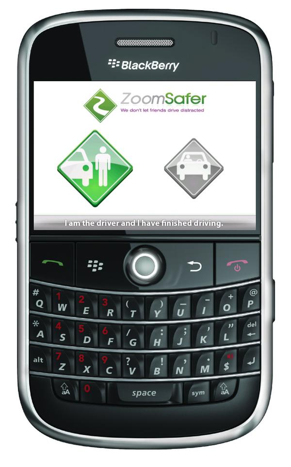 Zoomsafer's VoiceMate software allows users to send and receive messages via voice recognition