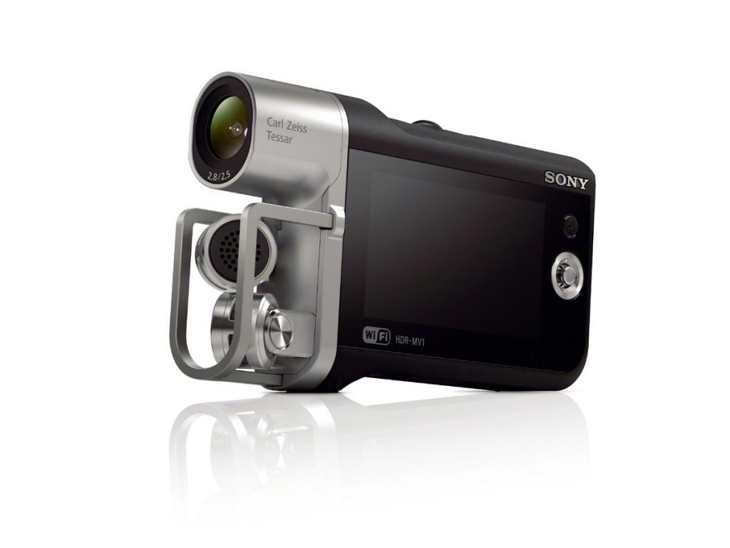 The Sony HDR MV1 Music Video Recorder is optimized for recording and sharing musical performances