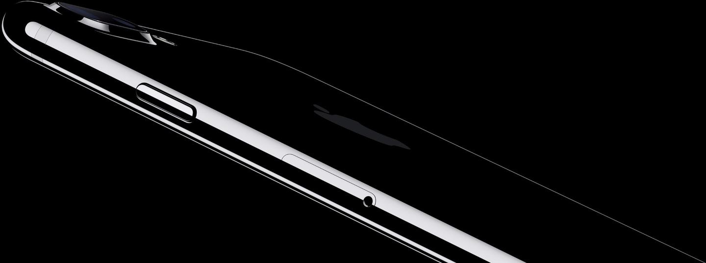 Glossy jet black is a departure from the anodized finishes of recent iPhones