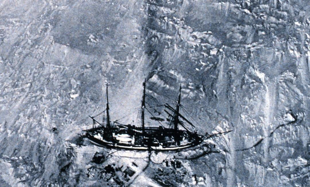 Researchers have used the ship logbooks of early 20th century Antarctic explorers, such as Erich von Drygalski's ship the Gauss, to compare sea ice coverage then to now, and found it's largely the same