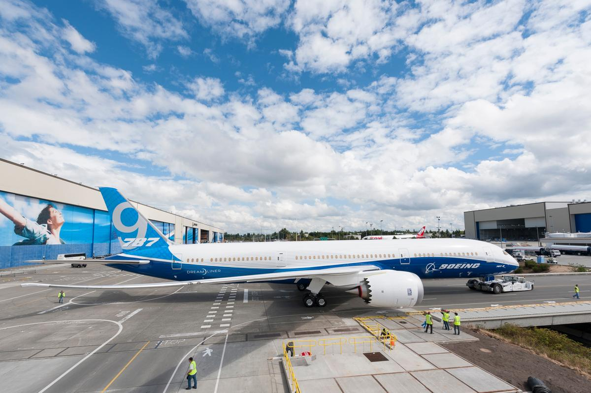 The 787-9 is the second Dreamliner variant (Photo: Boeing)