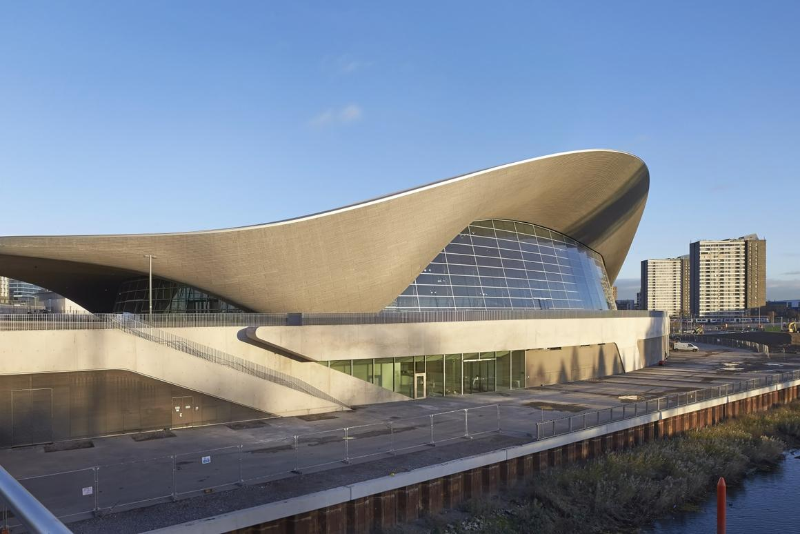 Zaha Hadid has won the Stirling Prize before, can she do it again with the stunning London Aquatics Center? (Photo: Hufton and Crow)