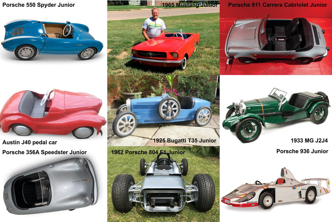 Nine spectacular childrens cars going to auction in September 2019