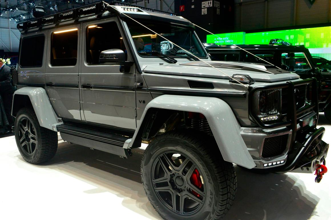 Extreme gets extremer as Brabus tunes the Mercedes G500 4x4