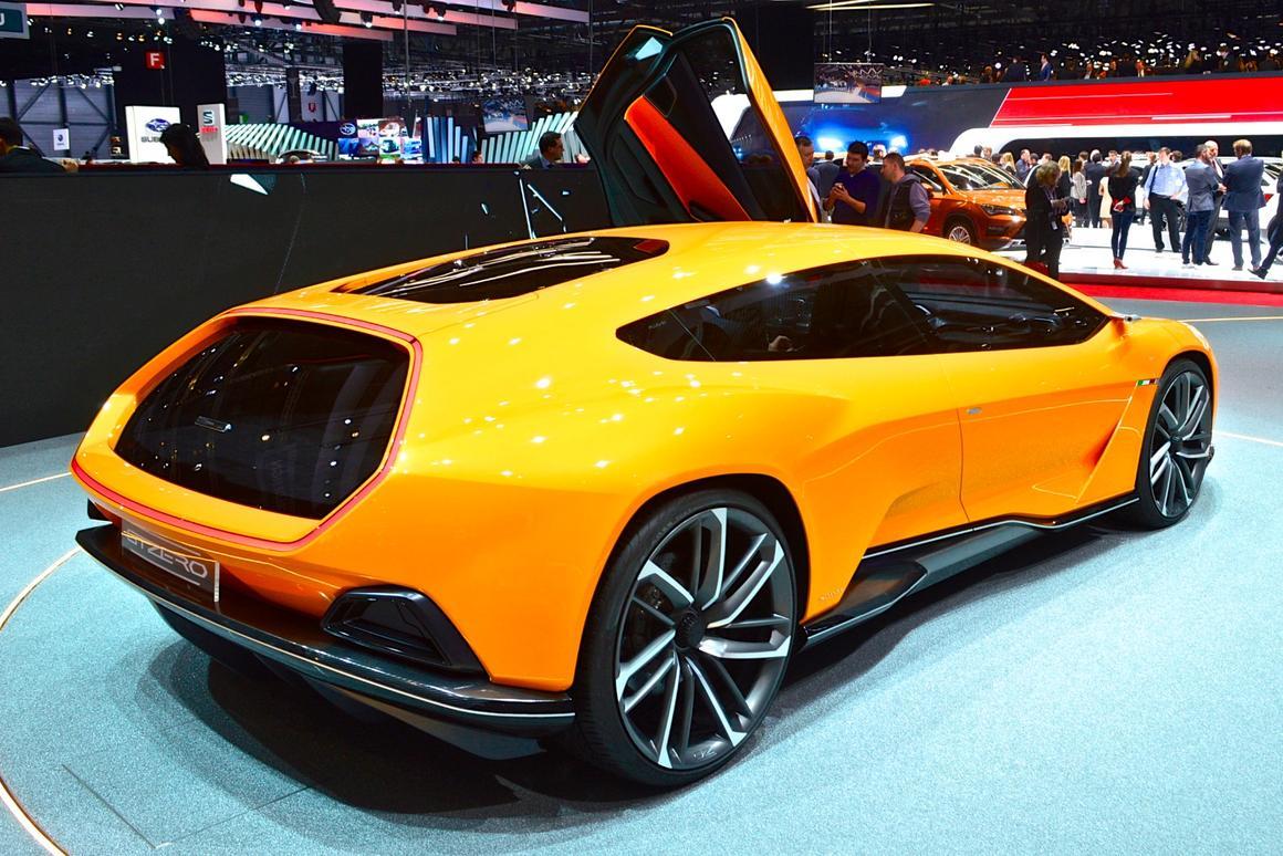 The GTZero features a composite body and carbon monocoque