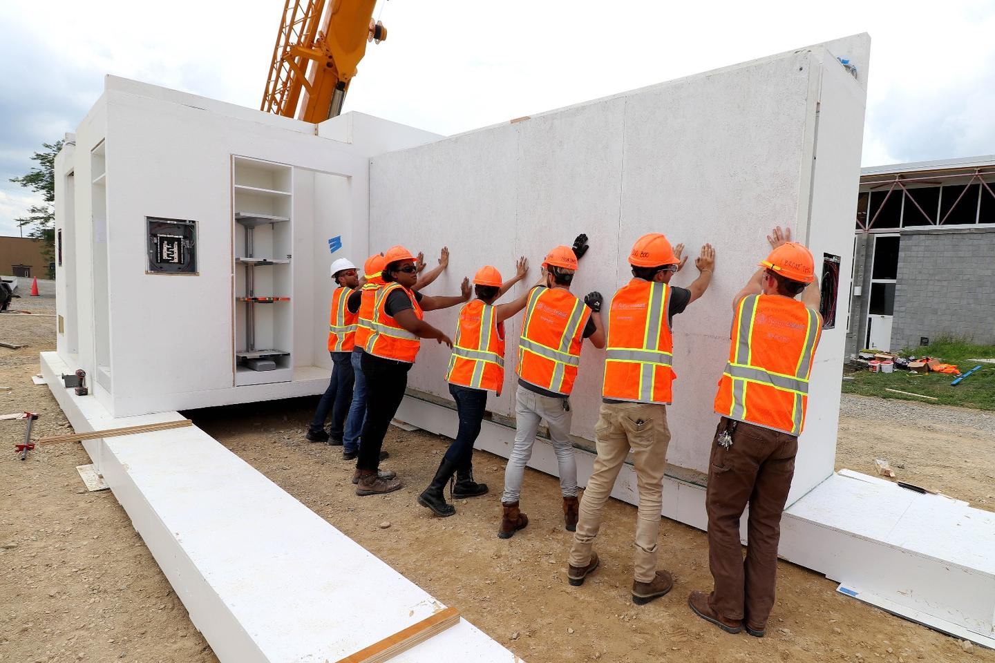 Following several years of research and development, an accidental fire and rebuild, and a month spent in the Dubai desert, Virginia Tech students have won the 2018 Solar Decathlon Middle East with the FutureHaus