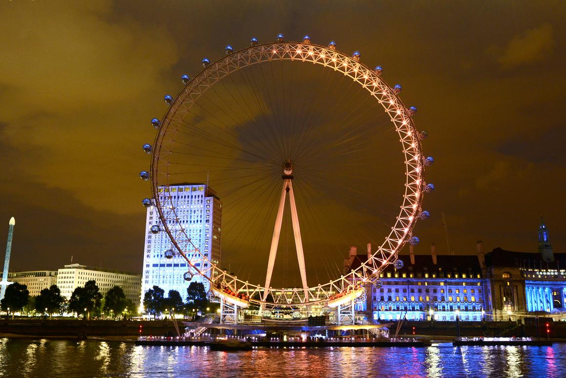 Energy of the Nation will see a proportion of the London Eye illuminated to represent the percentage of 'positive energy' felt towards the 2012 Olympics