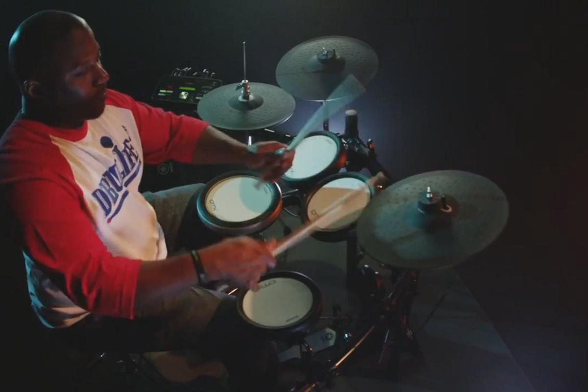 Yamaha's DTX502 Series electronic drums