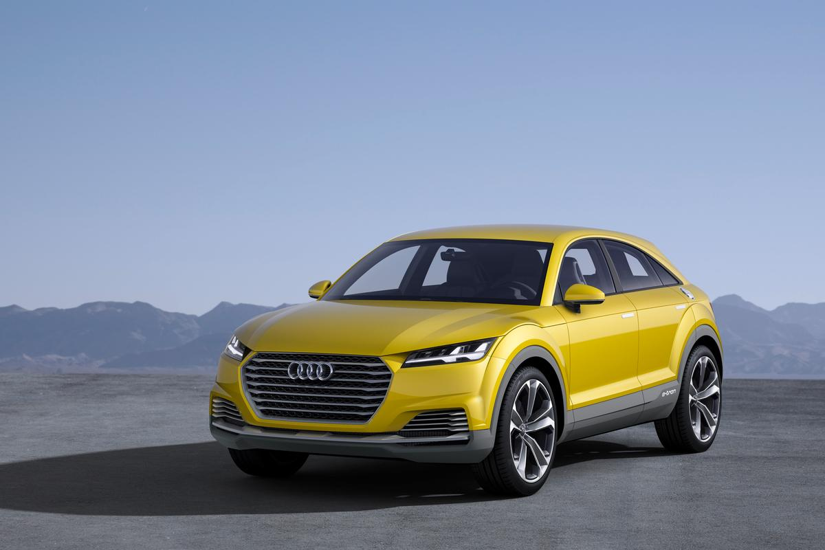 The Audi TT meets small crossover meets plug-in hybrid