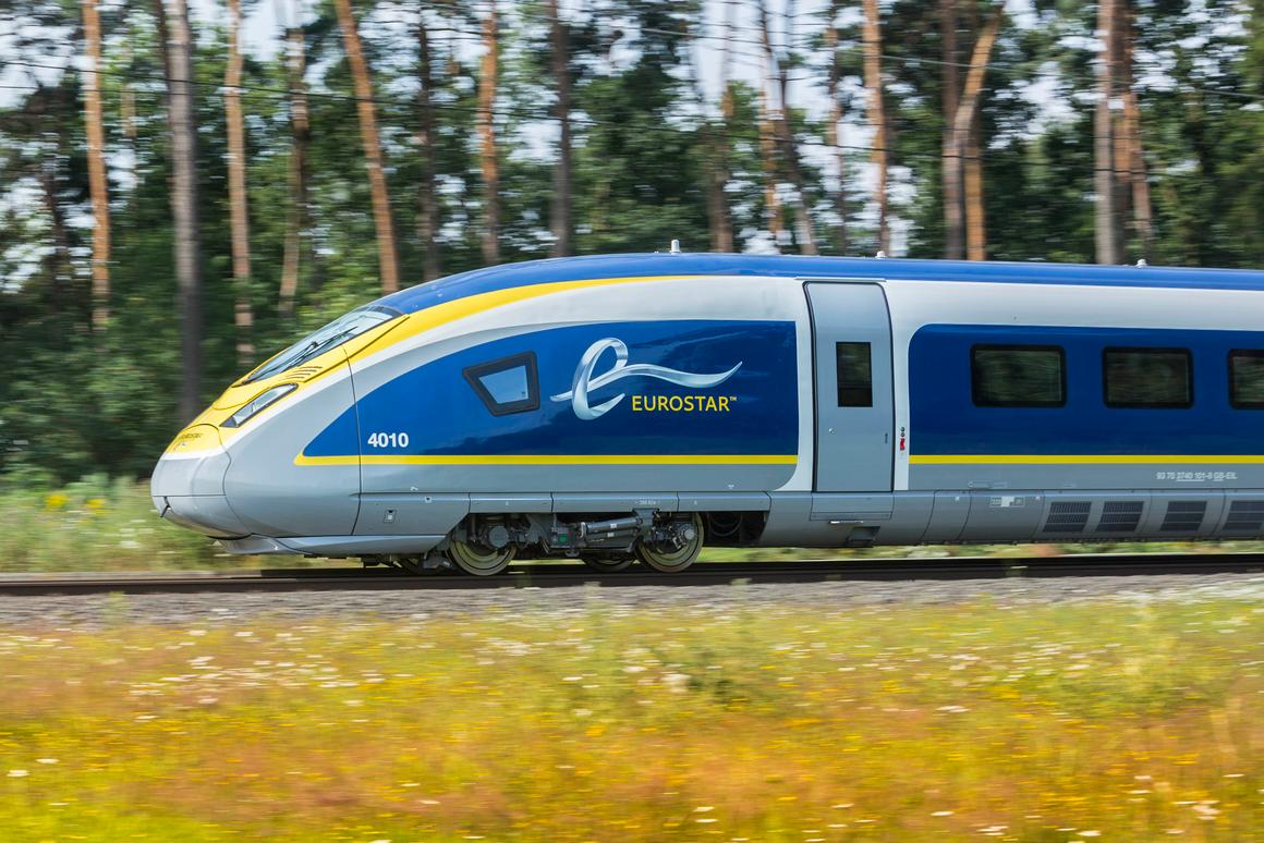 Eurostar is celebrating 20 years by adding a new fleet of high-tech e320 trains