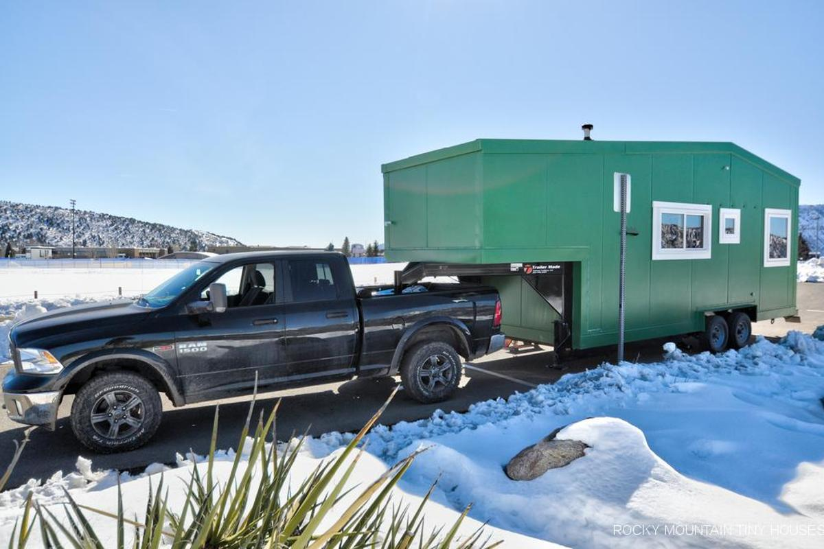 The Tucson weighs 11,700 lb, including all the owner's gear and the heavy solar system