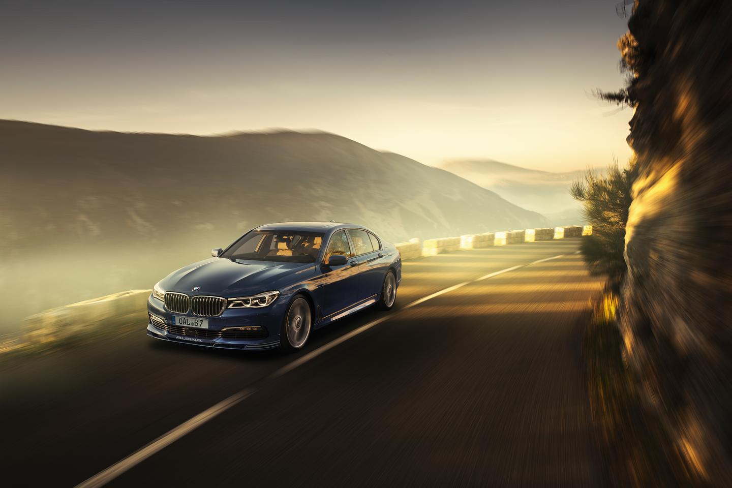 The Alpina B7 might be subtle on the outside, but it's packing some serious firepower under the hood