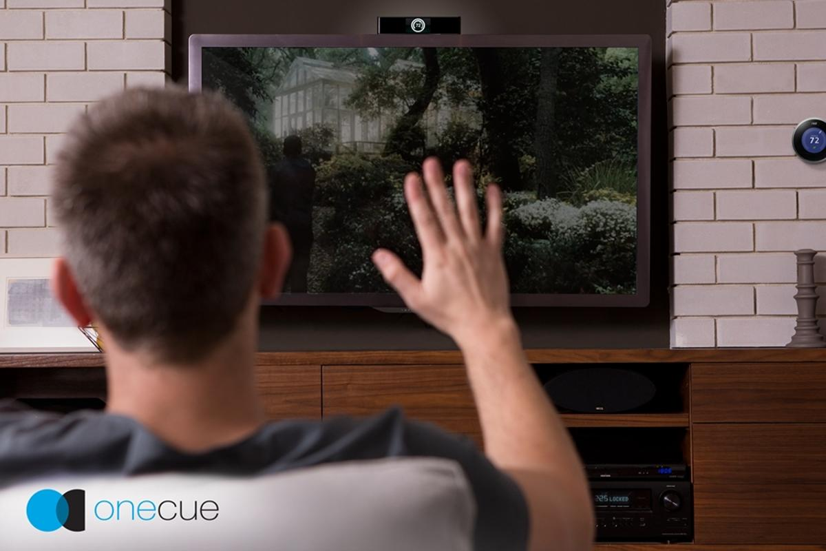 Onecue allows users to control a variety of home devices with simple hand gestures