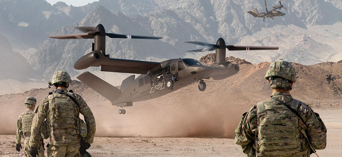The V-280 Valor tiltrotor is Bell Helicopter's concept for the U.S. Army's Joint Multi Role (JMR)/Future Vertical Lift (FVL) program